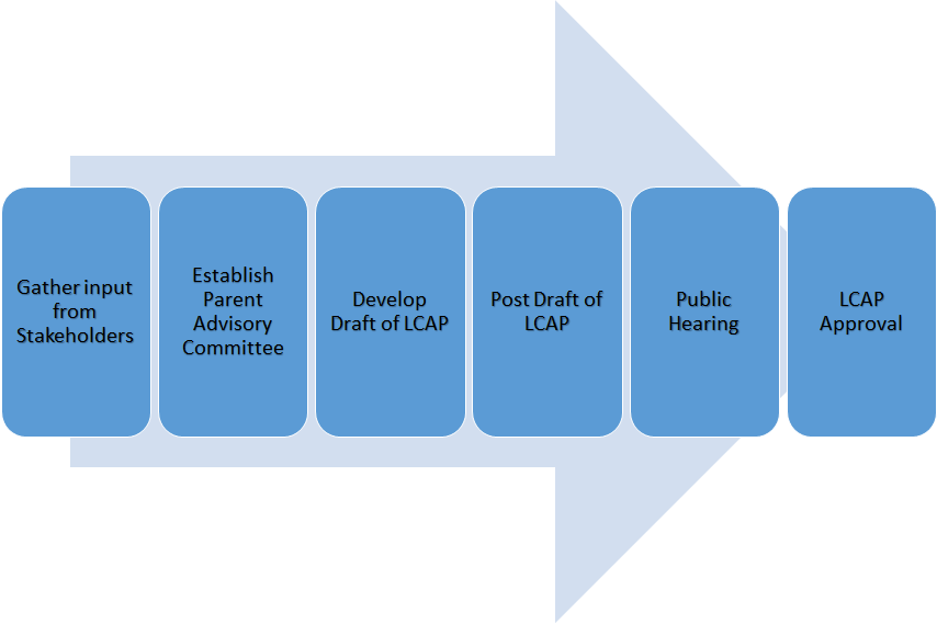 LCAP process map